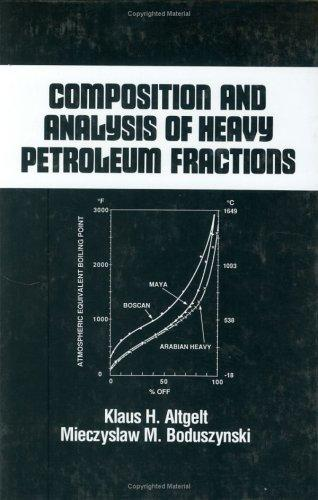 Composition and analysis of heavy petroleum fractions by Klaus H. Altgelt