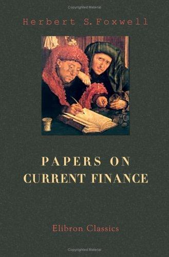 Papers on Current Finance