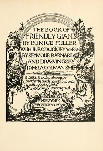 The book of the friendly giants by Eunice Fuller