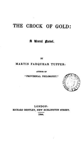The crock of gold by Martin Farquhar Tupper