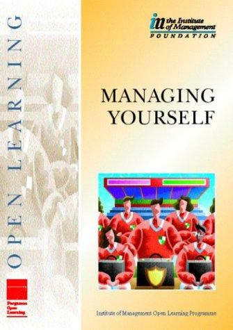 IMOLP Managing Yourself (Institute of Management Open Learning Programme) by THE INSTITUTE OF MANAGEMENT, Gareth Lewis