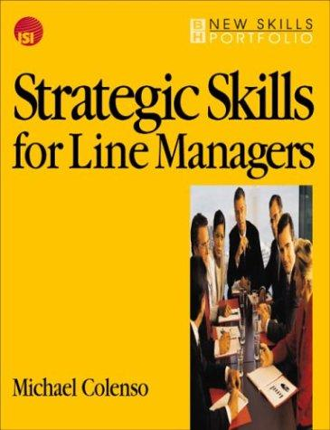 Strategic skills for line managers by Michael Colenso