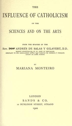 The influence of Catholicism on the sciences and on the arts