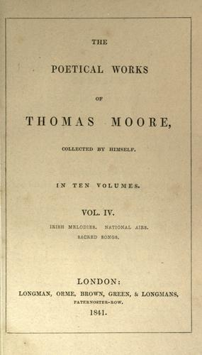 Poems by Thomas Moore