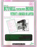 How to buy/sell your own home without a broker or lawyer by Benji O. Anosike