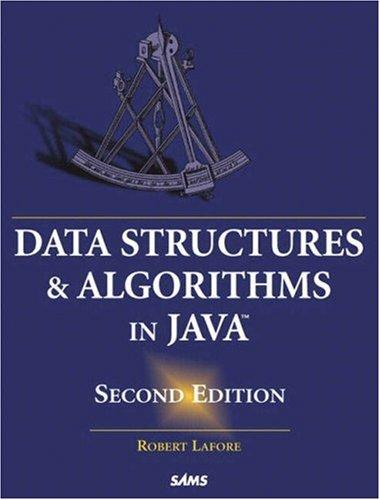 Data structures & algorithms in Java by Robert Lafore