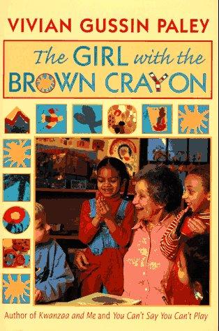 The girl with the brown crayon by