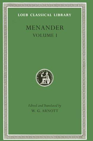 Menander, Volume 1 by Menander of Athens.