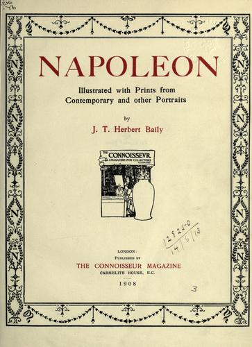 Napoleon by James Thomas Herbert Baily