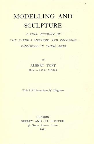 Modelling and sculpture by Albert Toft