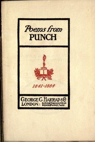 Poems from Punch by