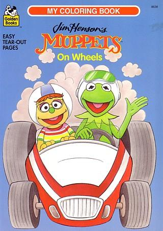 Muppets on Wheels by Golden Books